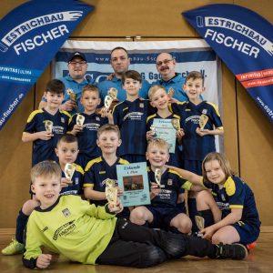1. Estrichbau Fischer Cup 14.01.2017 erfolgreich beendet – Sieger F-Jugend TSG Gadebusch